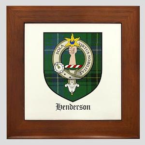 Henderson Clan Framed Tiles - CafePress