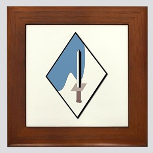 188th-Armored-Brigade-NoText Framed Tile