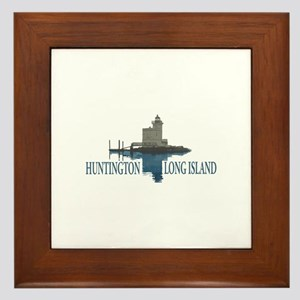 Huntington - Long Island New York. Framed Tile