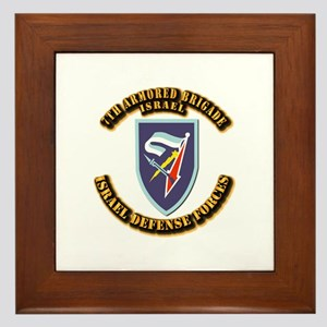 7th Armored Brigade Framed Tile