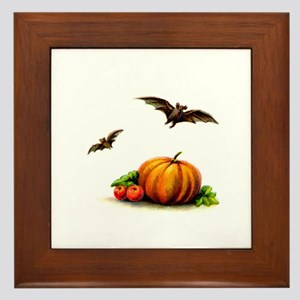 Classic Hallow's Eve Framed Tile