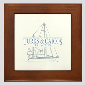Turks and Caicos - Framed Tile