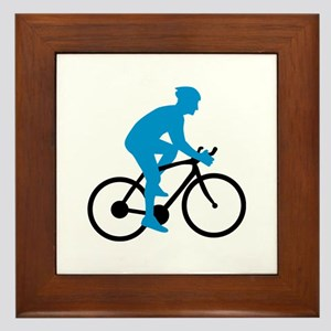 Bicycle Cycling Framed Tile