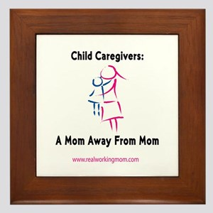 Mom Away From Mom Framed Tile