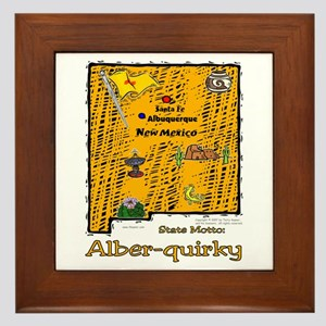 NM-Alber-quirky! Framed Tile