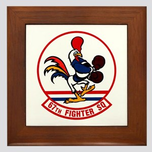 67th Fighter Squadron Framed Tile