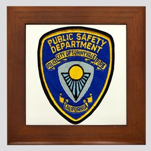 Sunnyvale Public Safety Framed Tile
