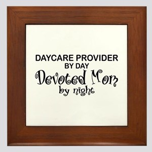 Devoted Mom Daycare Provider Framed Tile