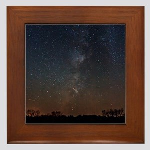 Milky Way Galaxy Hastings Lake Framed Tile