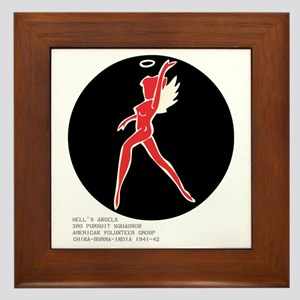 Hell's Angel Framed Tile