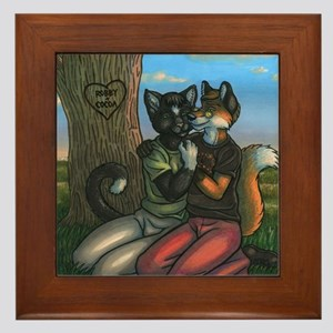 Quiet Interlude Framed Tile