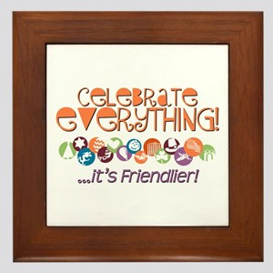 Celebrate Everything Framed Tile