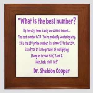 wh-lavendar, 73-quote overlapped Framed Tile