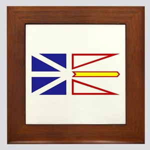 Newfoundland and Labrador Framed Tile