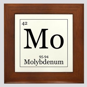 Elements - 42 Molybdenum Framed Tile