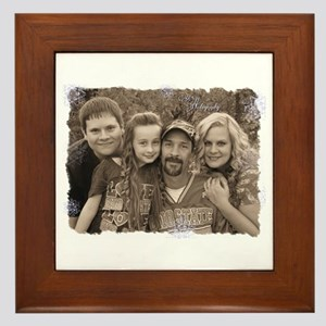 Custom photo Framed Tile