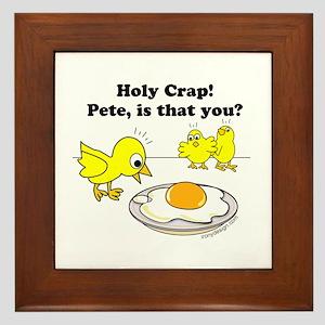 Funny Easter Eggs Wall Art - CafePress