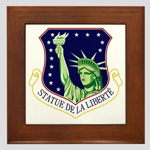 48th FW - Statue De La Liberte Framed Tile