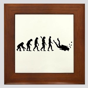 Evolution Diving Framed Tile