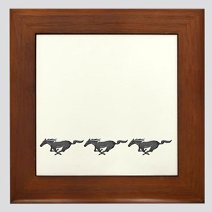 Mens mustang Framed Tile