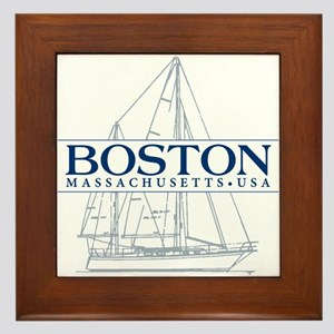 Boston - Framed Tile