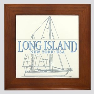 Long Island - Framed Tile