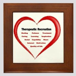 Therapeutic Recreation Benefits - Hear Framed Tile