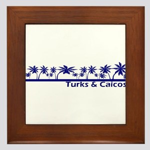 Turks & Caicos Framed Tile