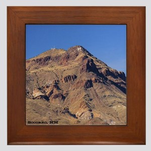 Framed Tile -  M- Mountain
