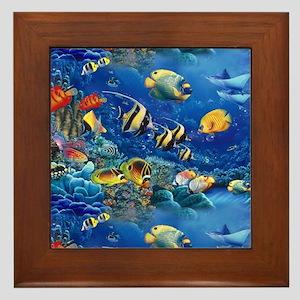 Tropical Fish Sale Cichlids Wall Art - CafePress