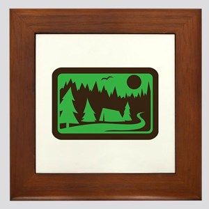 CAMPING Framed Tile