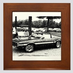 69 Shelby GT Framed Tile