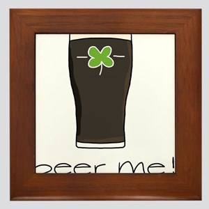 Beer Me Framed Tile