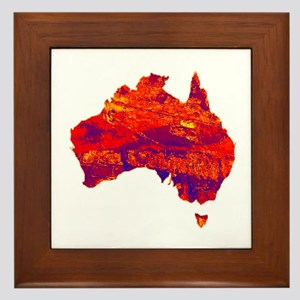 AUSSIE Framed Tile