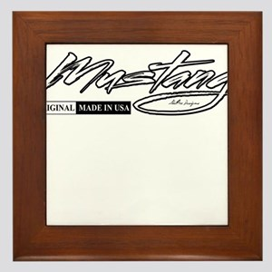 mustang Framed Tile