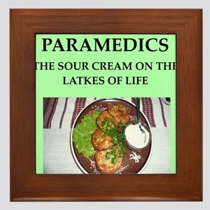paramedics Framed Tile