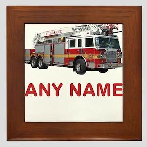 Boy Names Framed Tiles - CafePress
