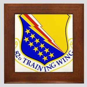 USAF Air Force 82nd Training Wing Shie Framed Tile