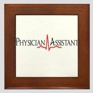 Physician Assistant Framed Tile