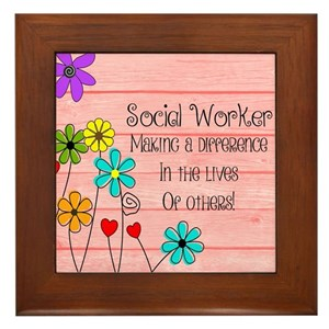 Social Worker Quotes Funny Wall Art - CafePress