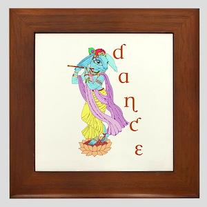 Hare Krishna Dance ! Framed Tile