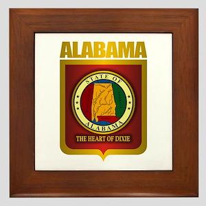 """""""Alabama Gold"""" Framed Tile"""