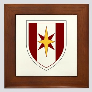 44th Medical Command SSI Framed Tile