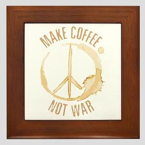 Make Coffee Framed Tile