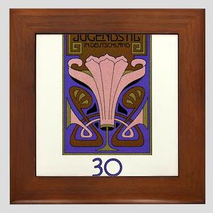 1977 Germany Art Nouveau Design Postage Stamp Fram