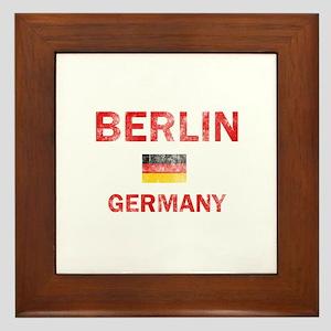 Berlin Germany Designs Framed Tile