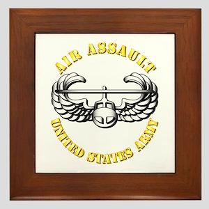 Emblem - Air Assault Framed Tile