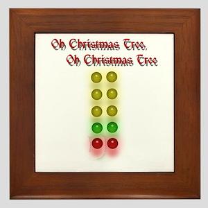Drag Race Christmas Tree Framed Tile
