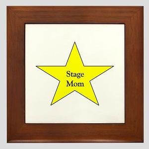 Stage Mom Framed Tile