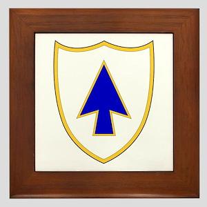 26th Infantry Regiment Framed Tile